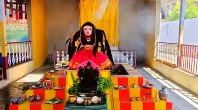 Temple for 'Corona Devi' comes up in Tamil Nadu | Sangbad Pratidin