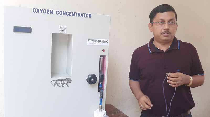 The professor of Durgapur NIT made a low cost oxygen concentrator । Sangbad Pratidin