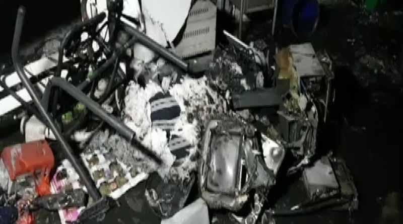 18 Covid Patients Dead in fire at Gujarat's Varuch Hospital | Sangbad Pratidin