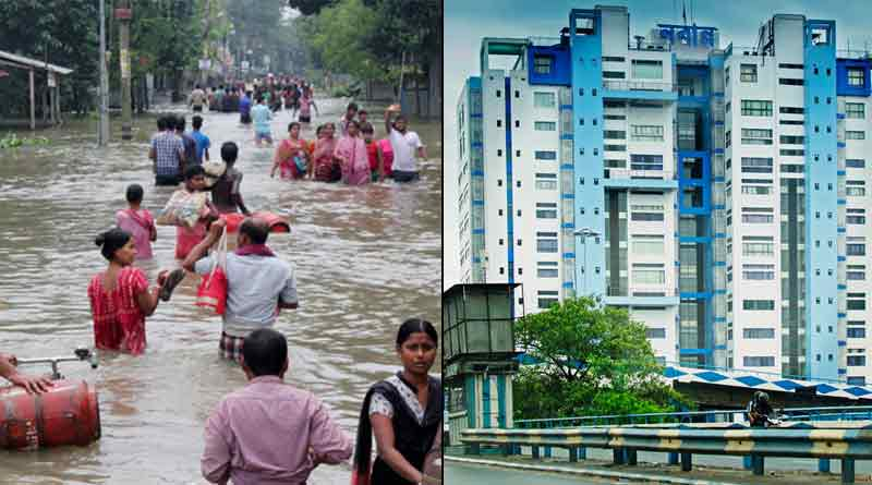 Some districts may be flooded due to heavy rain in West Bengal | Sangbad Pratidin
