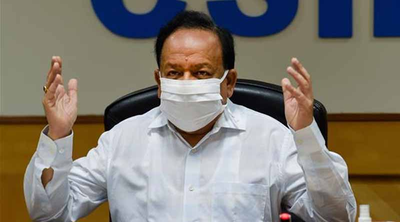 Union Health Minister Harsh Vardhan backlashed for his tweet recommending dark chocolate to beat COVID-19 related stress । Sangbad Pratidin