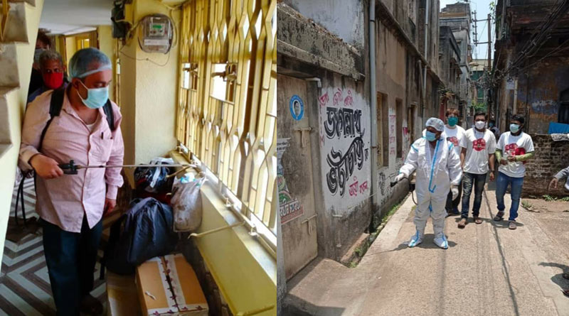 Coronavirus: Group of youth in Howrah helping locals in this pandemic   Sangbad Pratidin