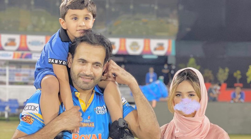 Former Indian pacer Irfan Pathan responds after receiving hate over wife's picture | Sangbad Pratidin