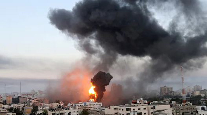 26 Killed in Israeli Airstrikes on Gaza City in Deadliest Single Attack Since Fighting Began | Sangbad Pratidin