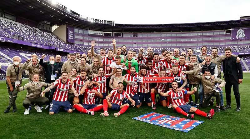 Atletico Madrid pipped city rivals Real Madrid to the La Liga title | Sangbad Pratidin