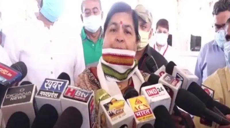 'Perform Yagna, Third Wave of COVID-19 Won't Touch India', Says MP Minister Usha Thakur | Sangbad Pratidin
