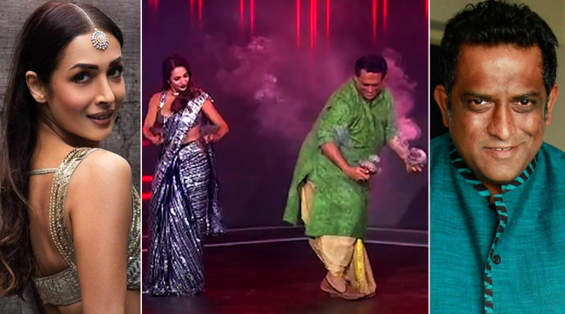 Malaika Arora dhunachi dance with Anurag Basu on the sets of Super Dancer Chapter 4 | Sangbad Pratidin