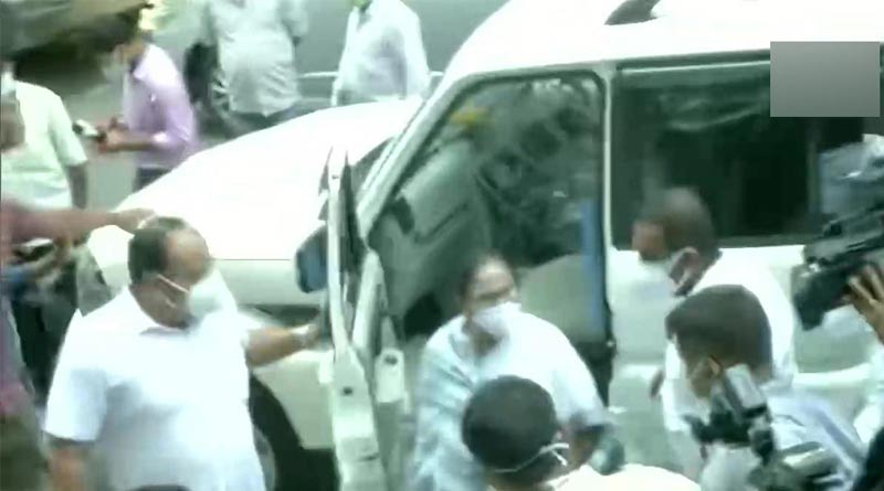 CM Mamata Banerjee is at Nizam Palace | Sangbad Pratidin