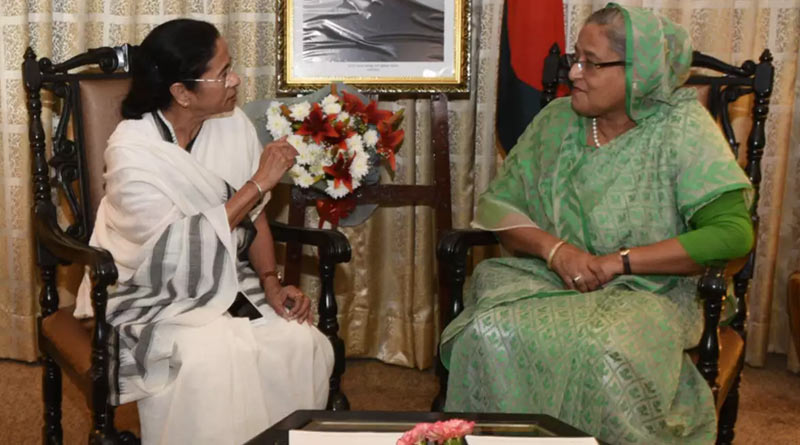 Bengal CM Mamata Banerjee thanks Bangladesh PM Sheikh Hasina and Foreign minister for their wishes| Sangbad Pratidin