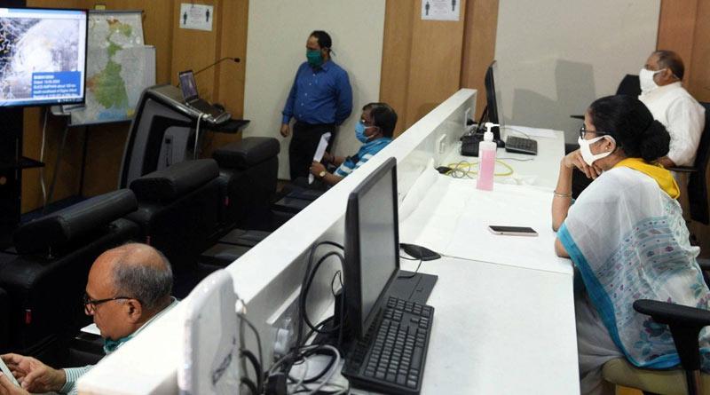 CM Mamata Banerjee to monitor cyclone Yaas landfall from Upanna | Sangbad Pratidin