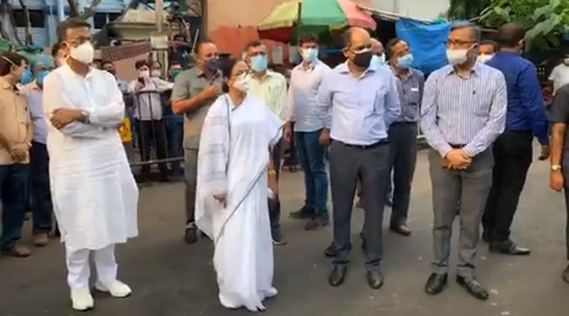 WB CM Mamata Banerjee visits many hospitals in Kolkata | Sangbad Pratidin