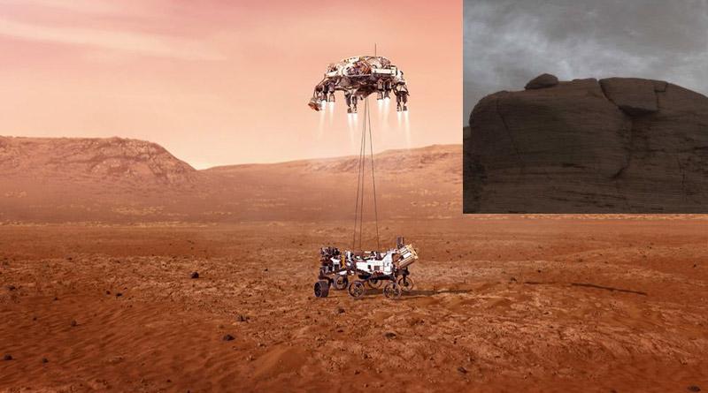 NASA's Curiosity Rover Captures 'shining Clouds' On Mars | Sangbad Pratidin
