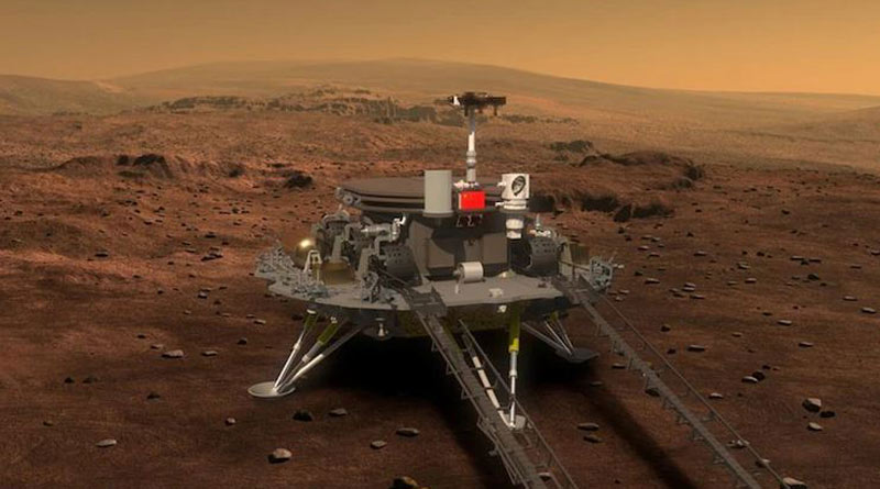 China will attempt its Mars rover landing this week | Sangbad Pratidin
