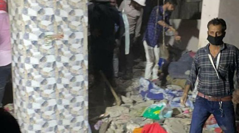 7 dead, several feared trapped as slab of building collapses in Maharashtra's Thane | Sangbad Pratidin