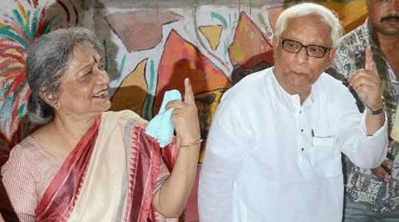Wife of Ex CM of WB Buddhadeb Bhattacharjee afain admitted to hospital | Sangbad Pratidin
