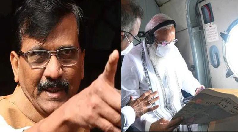 Shiv Sena targets PM Modi's visit to cyclone-hit areas in Gujarat, BJP hits back | Sangbad Pratidin