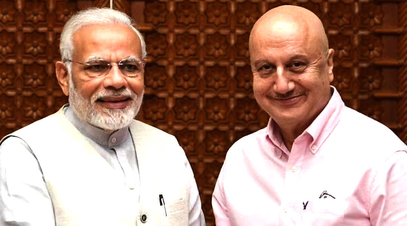 Anupam Kher allegedly criticizes Centre for COVID-19 situation | Sangbad Pratidin