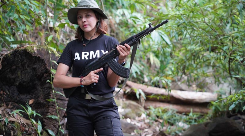 Myanmar beauty queen takes up arms against all powerful junta | Sangbad Pratidin
