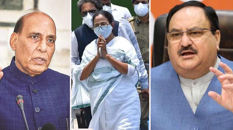 Rajnath Singh and JP Nadda slams Mamata Banerjee over meeting with PM Modi