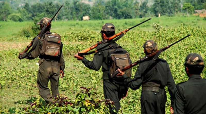 13 Naxals were neutralized in the forest area of Maharashtra's Gadchiroli ।Sangbad Pratidin