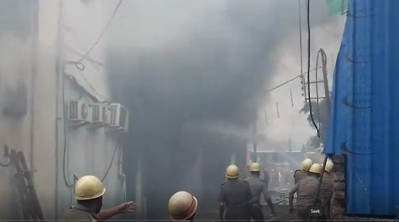 Fire at a factory in New Barrackpore continues even after 28 hours | Sangbad Pratidin