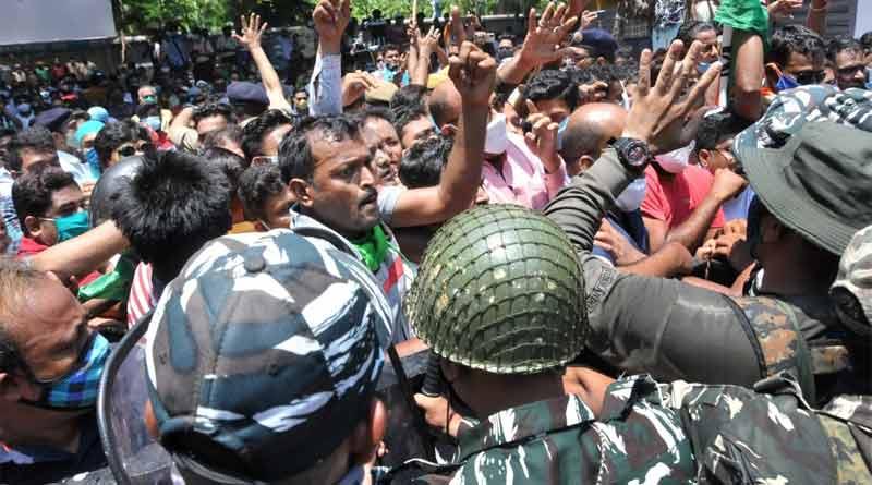 Police arrested four person in Nizam Palace agitation case ।Sangbad Pratidin