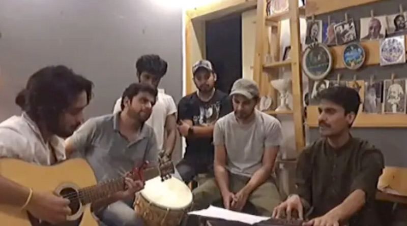 Pakistani artists sing soulful version of Arziyan in solidarity with India during Covid crisis. Viral video | Sangbad Pratidin