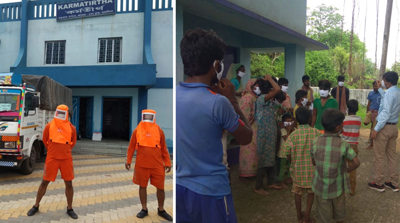 Junglemahal district Purulia is preparing to combat cyclone Yaas | Sangbad Pratidin