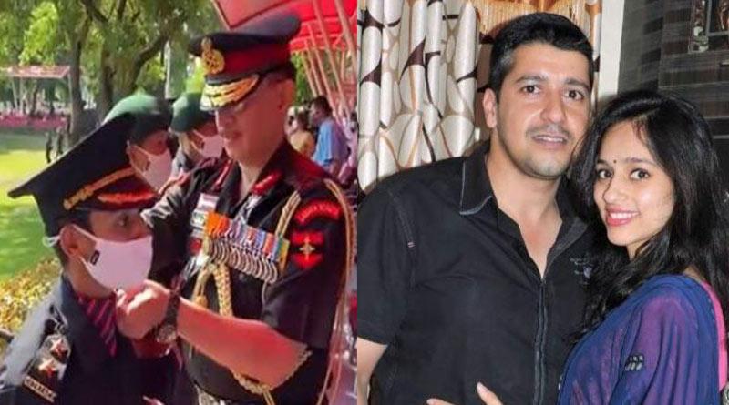 Pulwama martyr's wife Nikita Kaul joins Indian Army | Sangbad Pratidin