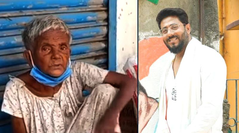 TMC MLA Raj Chakraborty and his team rescued elderly woman in Barrackpur | Sangbad Pratidin