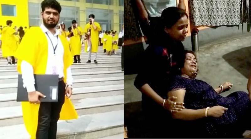 Rishabh Mandal's family cries in pain for loosing their son   Sangbad Pratidin