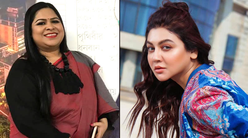 Jaya Ahsan protest against Bangladesh assault of Bangladesh Journalist Rozina Islam | Sangbad Pratidin