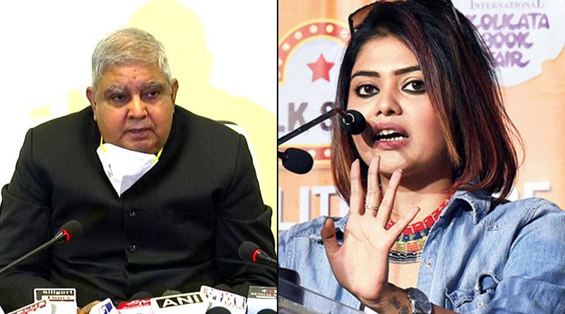 Actress Saayoni Ghosh Slama WB Governor Jagdeep Dhankar on Sitalkuchi issue | Sangbad Pratidin