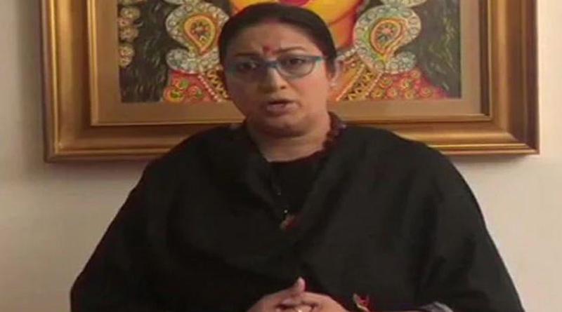 577 Children Orphaned Due To Covid Since April 1, says Smriti Irani | Sangbad Pratidin