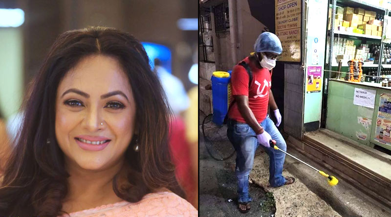 Sreelekha Mitra Posted video about Red Volunteers in her Youtube Channel | Sangbad Pratidin