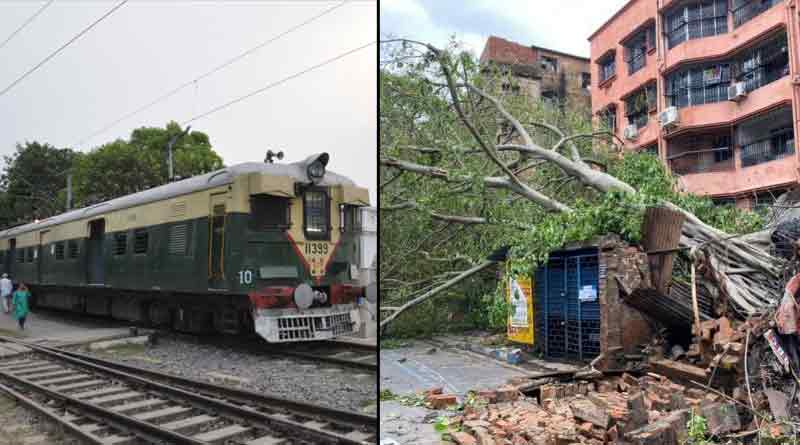 Eastern Railway cancels many train due to cyclone Yaas ।Sangbad Pratidin