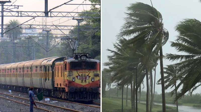Eastern Railway cancels 28 trains and diverts routes of some trains due to Cyclone Gulab | Sangbad Pratidin