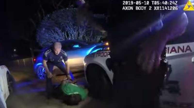 US cops seen in new video tasing black man Ronald Grene before death | Sangbad Pratidin