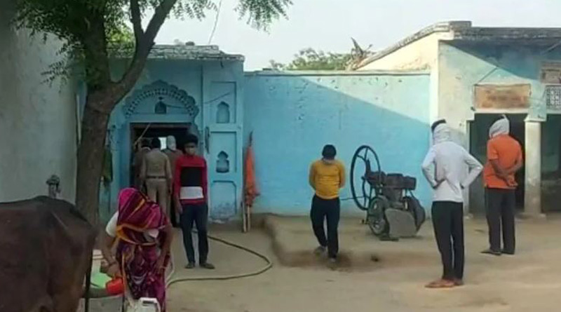 Uttar Pradesh woman refuses to lift veil for Covid testing, locals beat up health officials | Sangbad Pratidin