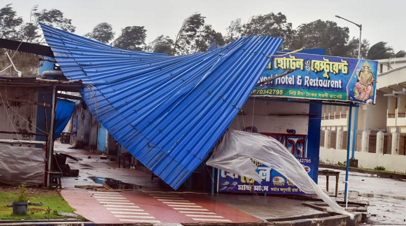 Bengal govt announces financial package for Cyclone Yaas victims 'Duare Tran' |Sangbad Pratidin