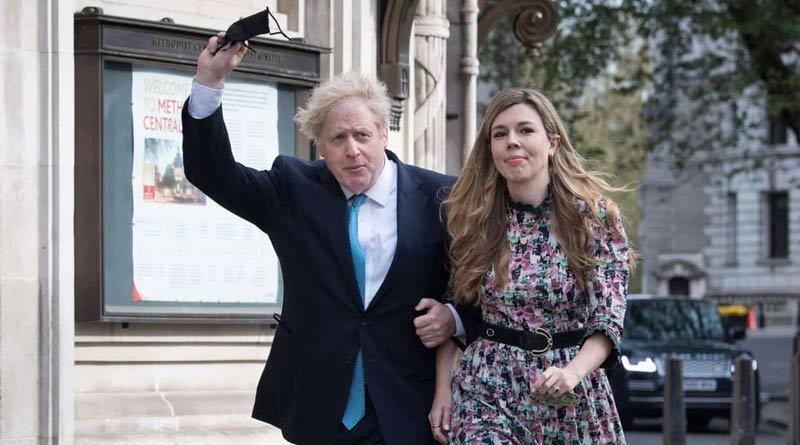 UK Prime Minister Boris Johnson got hitched with fiancee Carrie Symonds | Sangbad Pratidin