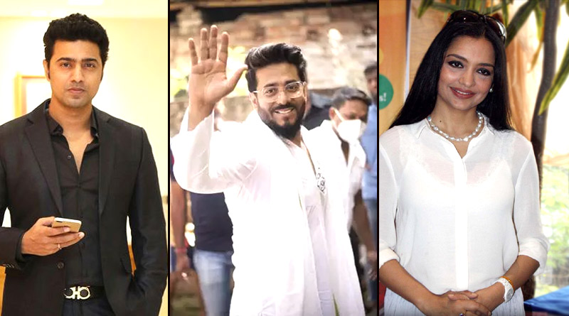 Dev, Raj Chakraborty, June Malia and other celebrity politicians are on working mode in COVID-19 situation | Sangbad Pratidin