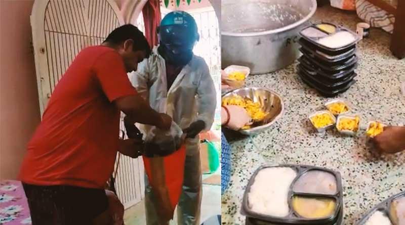 KD's Den Kitchen delivers food to COVID-19 positive families in Kolkata   Sangbad Pratidin