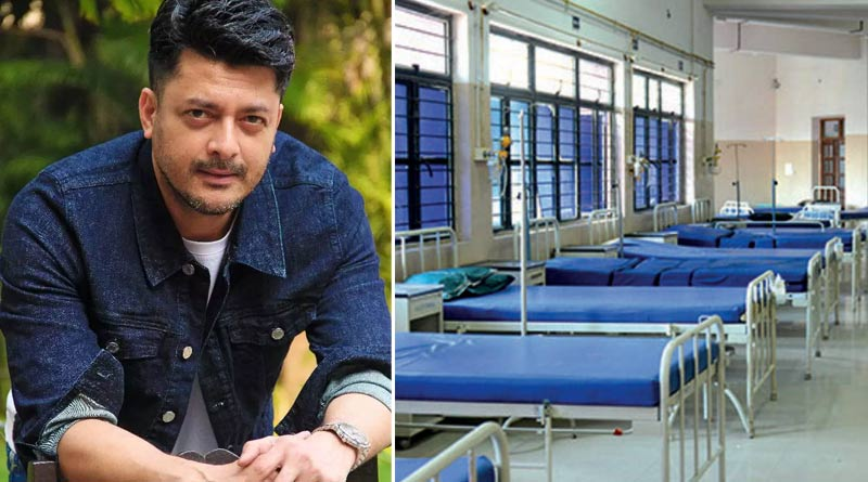 Actor Jisshu Sengupta arranges a same home for covid positive patients | Sangbad Pratidin