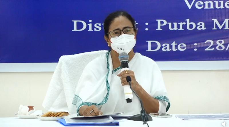 Chief Minister Mamata Banerjee takes stock of Purnendu Majhi's health | Sangbad Pratidin
