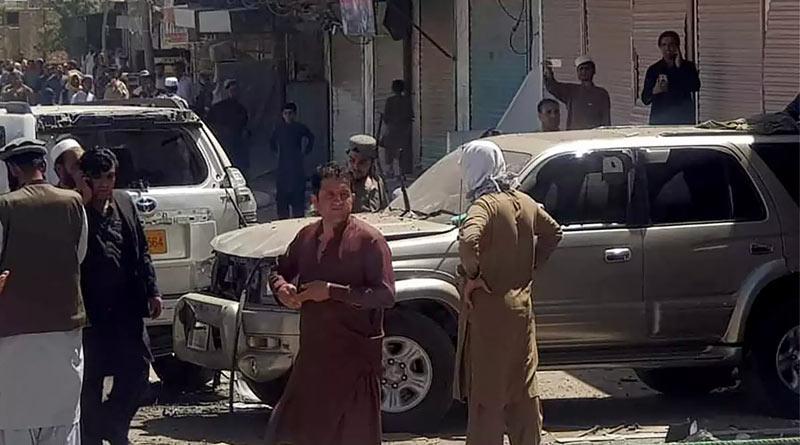 Bomb blast kills several at pro-Palestine rally in southwest Pakistan's Chaman province | Sangbad Pratidin