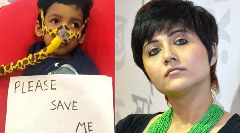 Swastika Mukherjee urges to save Ayaansh Gupta in Instagram | Sangbad Pratidin