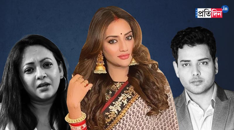 Sreelekha mItra slams Tathagata Mukherjee as row over Nusrat intensifies | Sangbad Pratidin