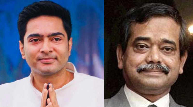 Former Congress MP Abhijeet Mukherjee met TMC all India president Abhishek Banerjee on Monday | Sangbad Pratidin