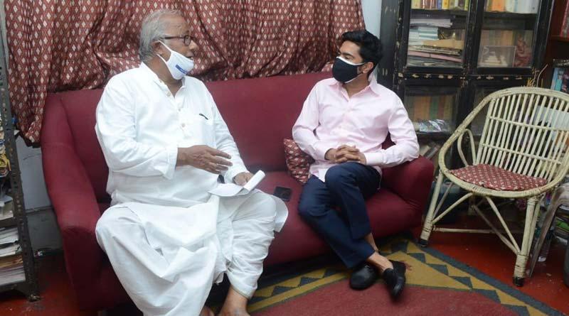 TMC's Abhishek Banerjee takes jibe at BJP's factional feud । Sangbad Pratidin